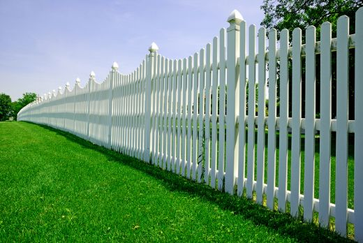 extended timber picket fence with fake grass at Darwin Carpenters